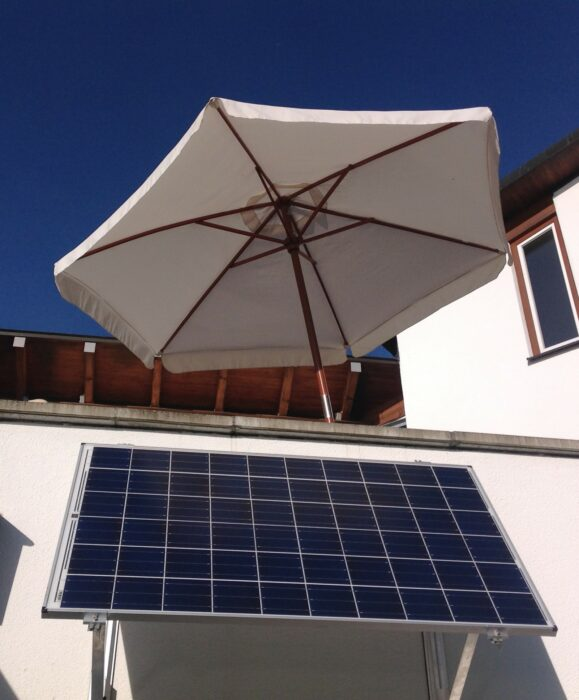 Balkonkraftwerk oder Mini-Solaranlage